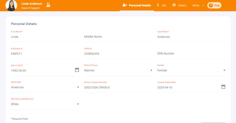 Employee Database Profiles