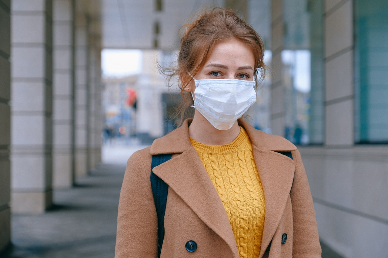 woman wearing face mask 3902881